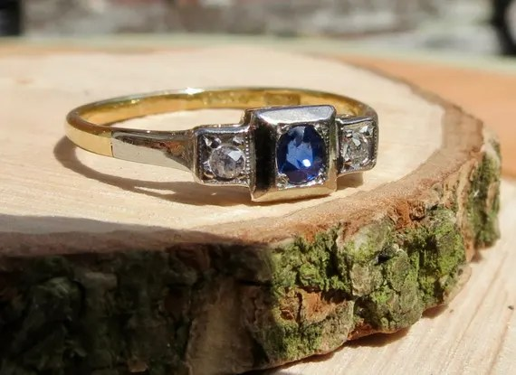 36 unusual Art Deco engagement rings you can buy online