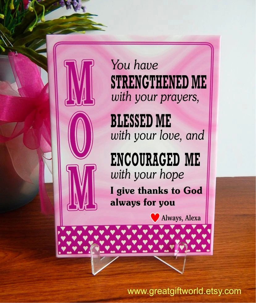 Christian Gift For Mom Gift Gifts For Mommy Religious