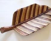 Vintage Boho Leaf Decor W...