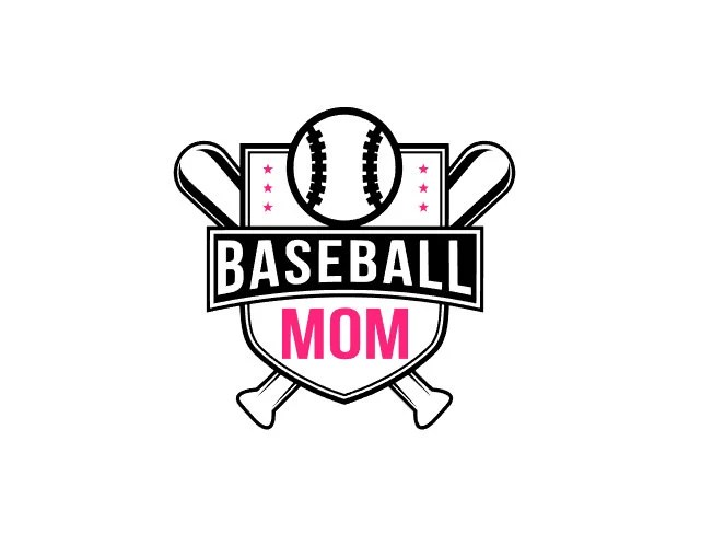 Free Shipping-Baseball Mom Decal T-Ball Softball Boy Mom
