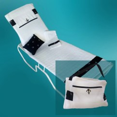 Chaise Lounge Chair Cover Towel Outdoor Chairs Bunnings Converts To A Beach Or Pool Tote Bag
