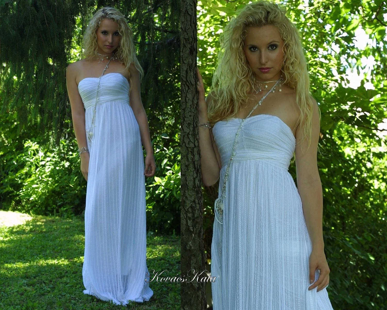 Ethereal Grecian Goddess Wedding Gown Helena