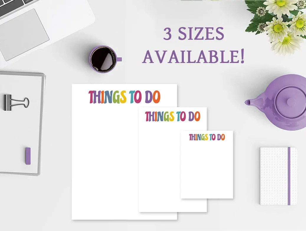 To Do List Notepad - Thin...