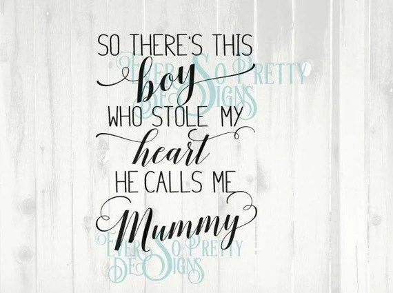 Download svg files mommy svg son svg mother son Mother's day