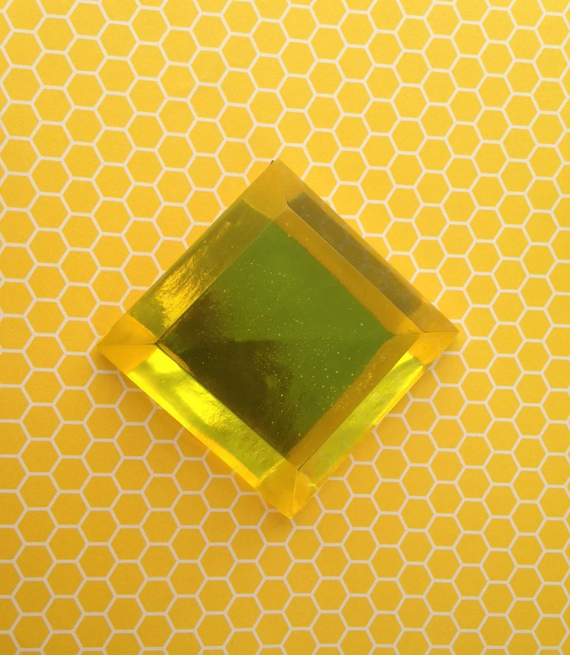 Yellow Diamond Steven Universe Resin Cosplay Gem