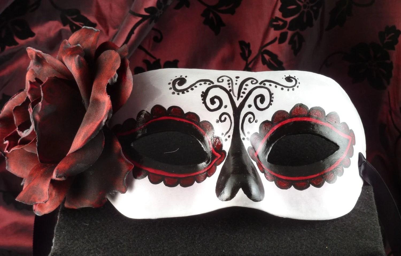Tradition Mask Day Of Dead Dia De Los