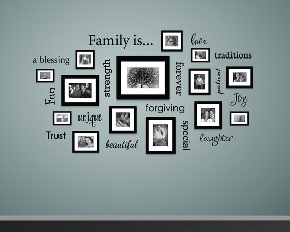 Family Tree Words Decals by StephenEdwardGraphic