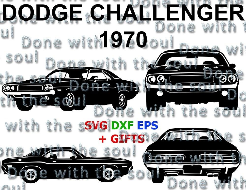 Dodge Challenger 1970 Dodge Challenger Car vector Car