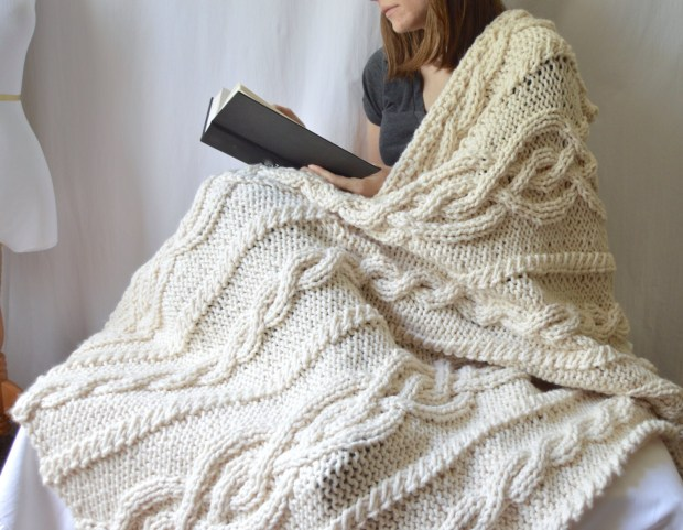 Cable Knit Throw Blanket Home Design Ideas