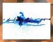 Large Blue Artwork, Big A...