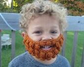 9 colors! Crochet beard b...