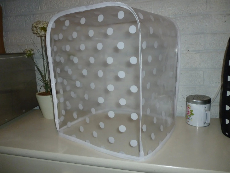 Polka Clear PVC KitchenAid Professional 600 Series 6 Quart