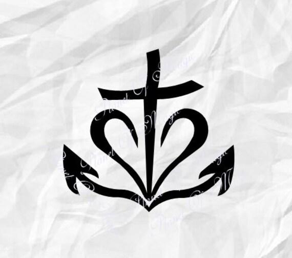 Download Faith Hope Love SVG, Cross Svg, Religious SVG, Christian ...