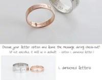 Promise rings | Etsy