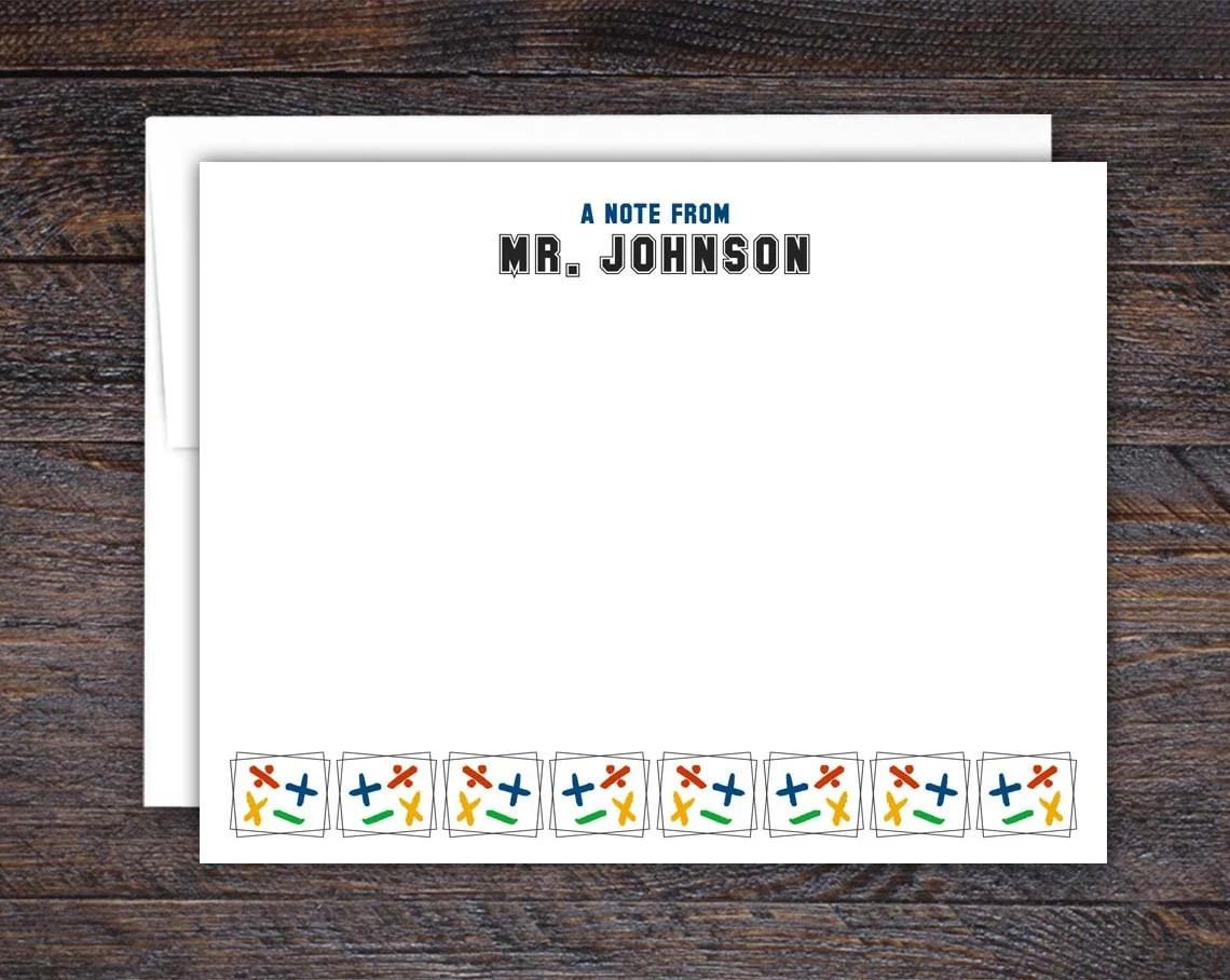 Math Note Card Set - Flat...