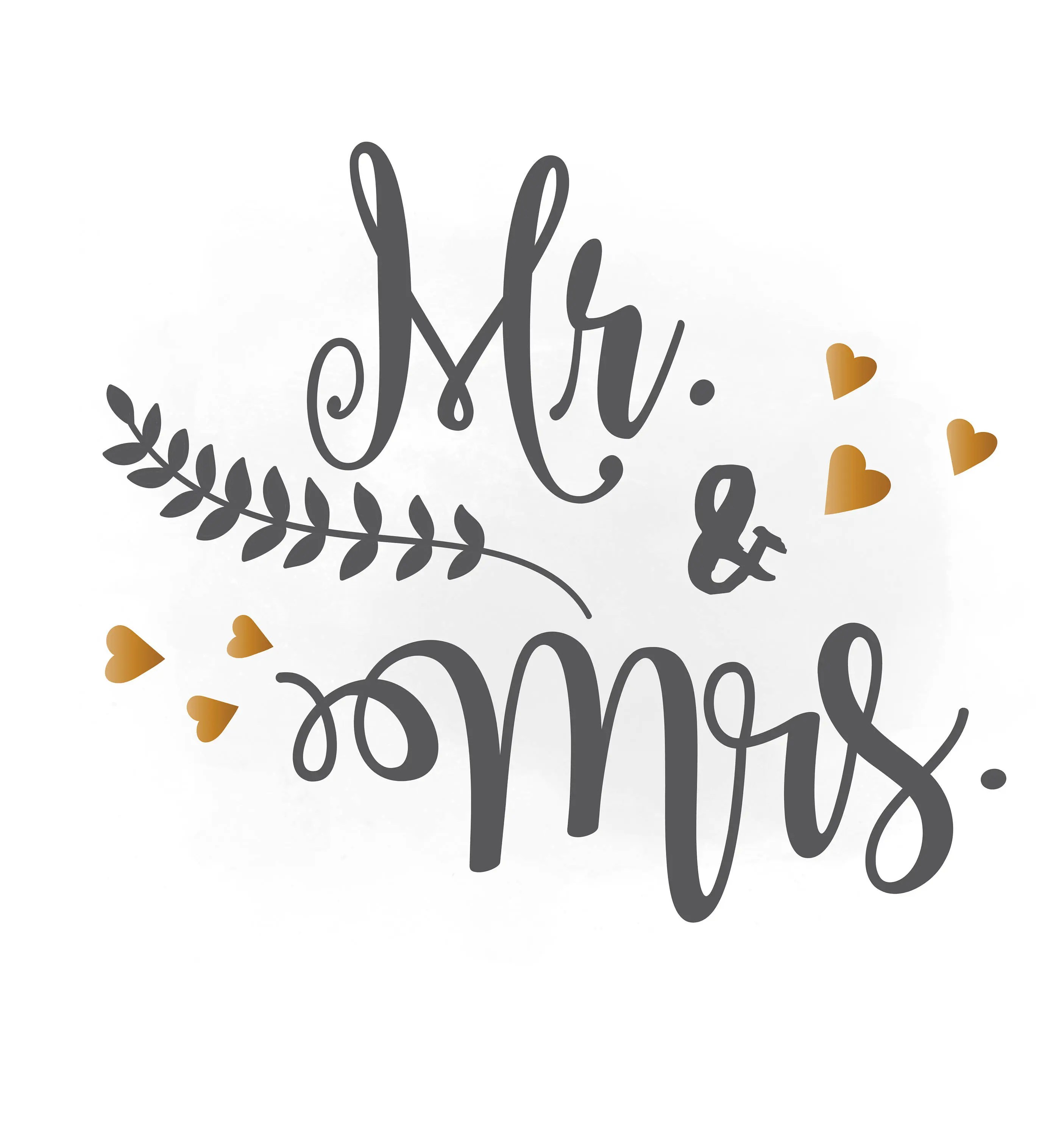 Mr and Mrs SVG clipart wedding annuncment Mr and Mrs vector