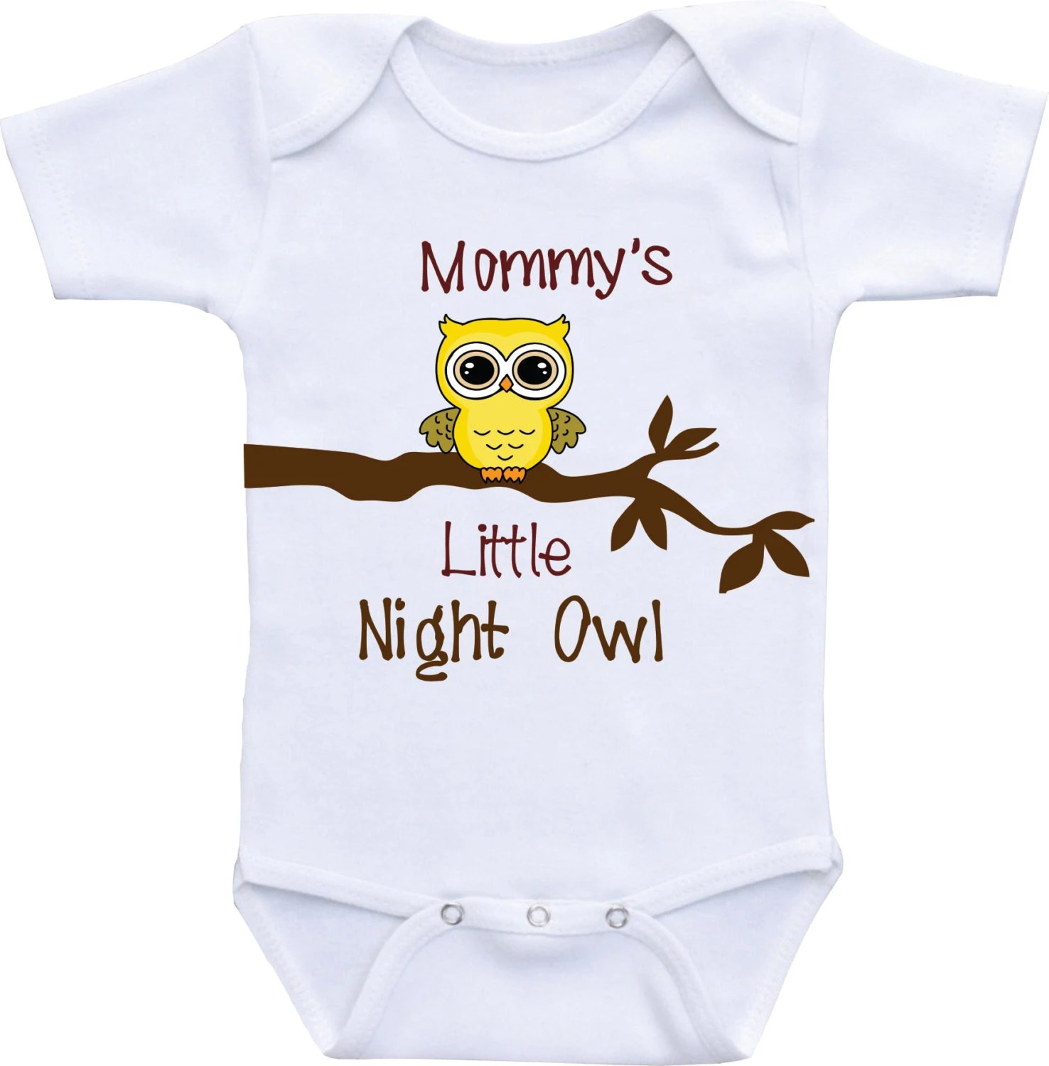 owl baby boy clothes baby shower gift funny baby clothes mommy s little night [ 1476 x 1500 Pixel ]