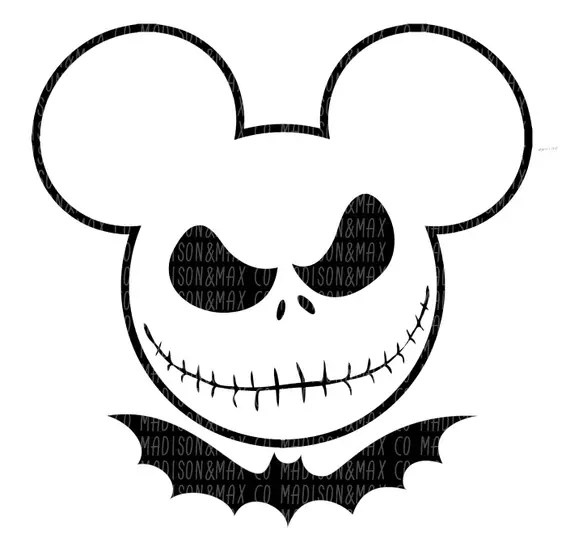 Download Jack Skellington SVG Nightmare Before Christmas halloween