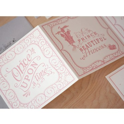 Disney Wedding Invitation Once Upon A Time
