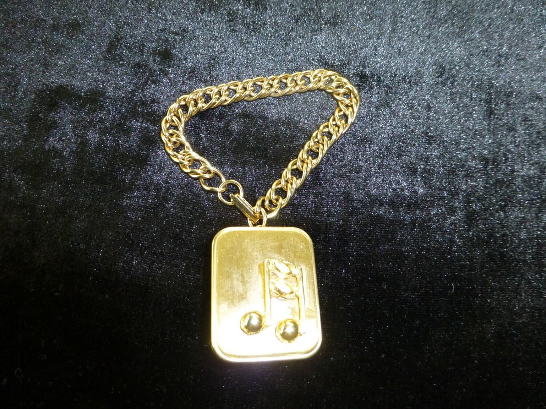 Vintage Reuge Miniature Music Box Musical Pendant Necklace