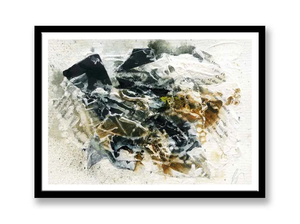 Black and brown Abstract ...