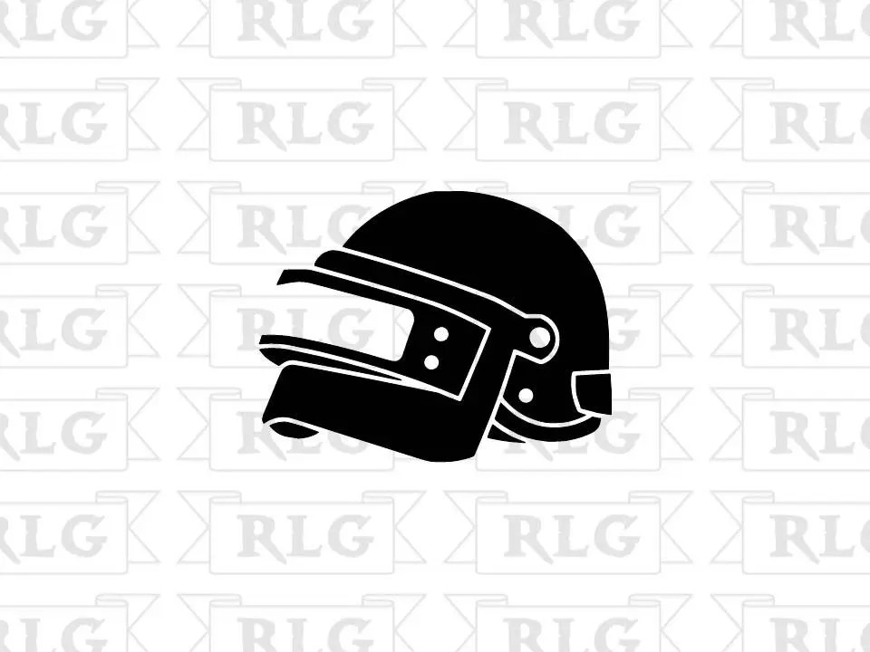 PUBG Level 3 Helmet Decal