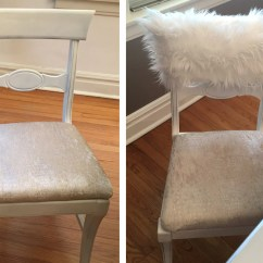 Fur Chair Cover Student Desk White Chiavari Caps Home Decor Style Up Your Dinning