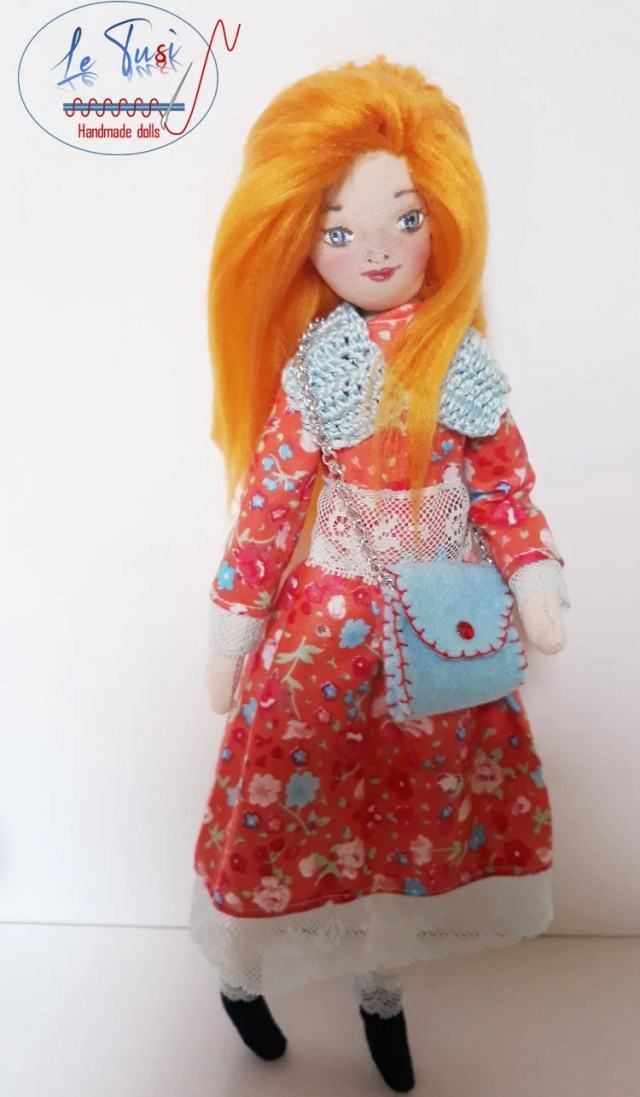 Cloth doll, Handmade, sof...