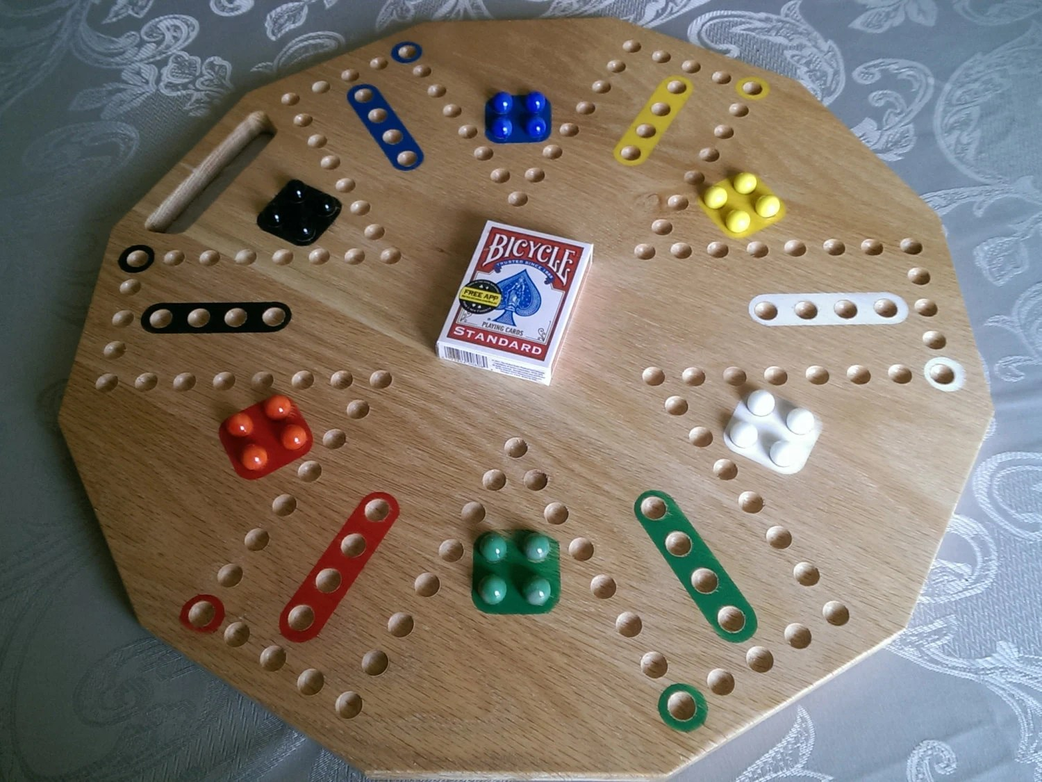 4score The Cards And Marbles Board Game