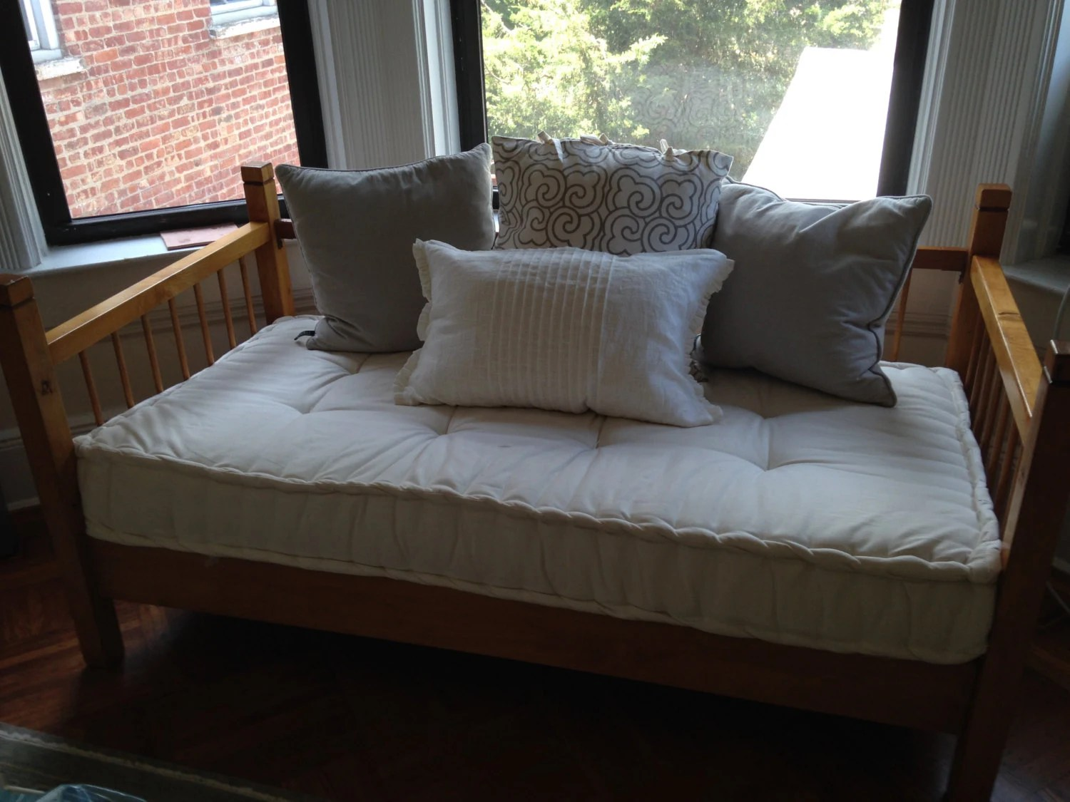 Items Similar To Custom Sewn Hand Tufted Window Seat