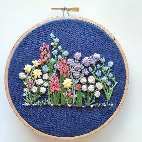 Simple Floral Embroidery
