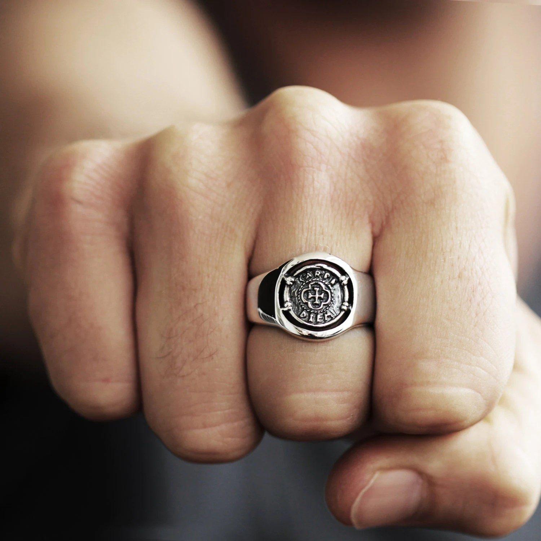 Herren Siegelring Siegelring Silber Siegelring Herren Ring