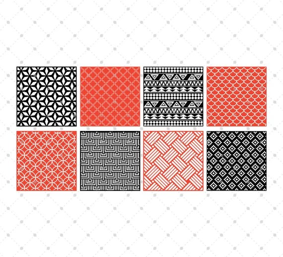 Download Background Patterns SVG cut files for Cricut Silhouette and