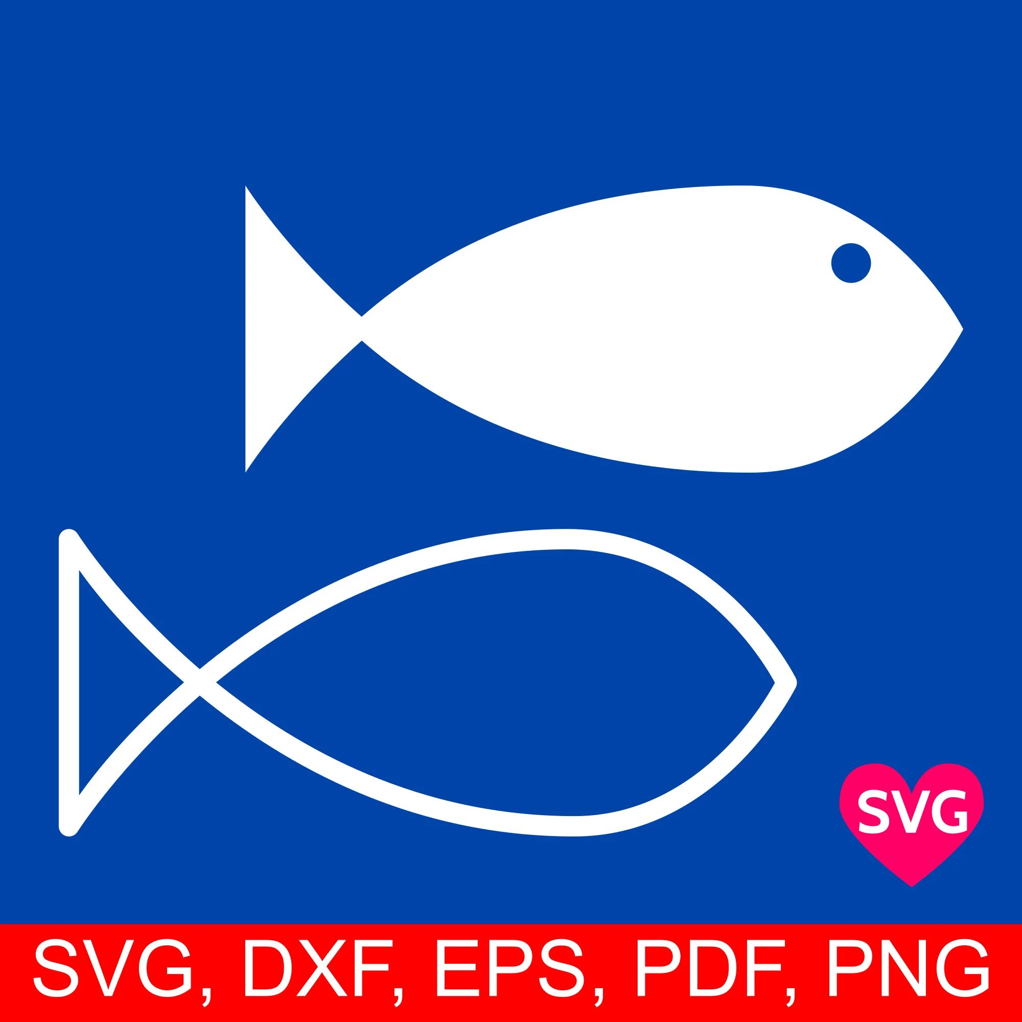 Fish Svg Cut File And Printable Clipart Silhouette