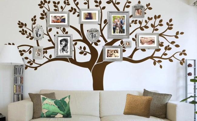 Photo Frame Family Tree Decal Wall Decals Wall Decor