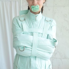 Adult Baby High Chair Desk Retro Mint Abdl Straitjacket For A Little