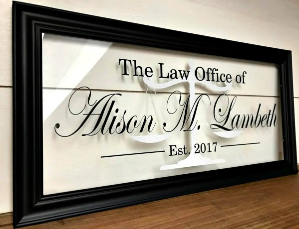 Attorney Law Office Signs