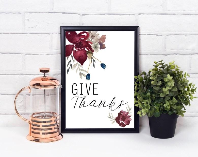 Give Thanks Autumn Digita...