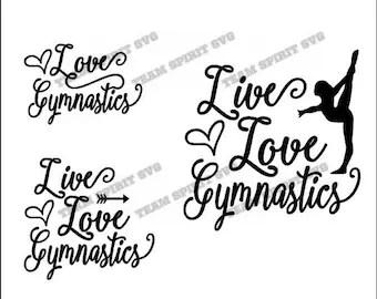 Download Gymnast svg file | Etsy
