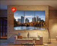 Atlanta skyline canvas wall art skyline Atlanta skyline ...