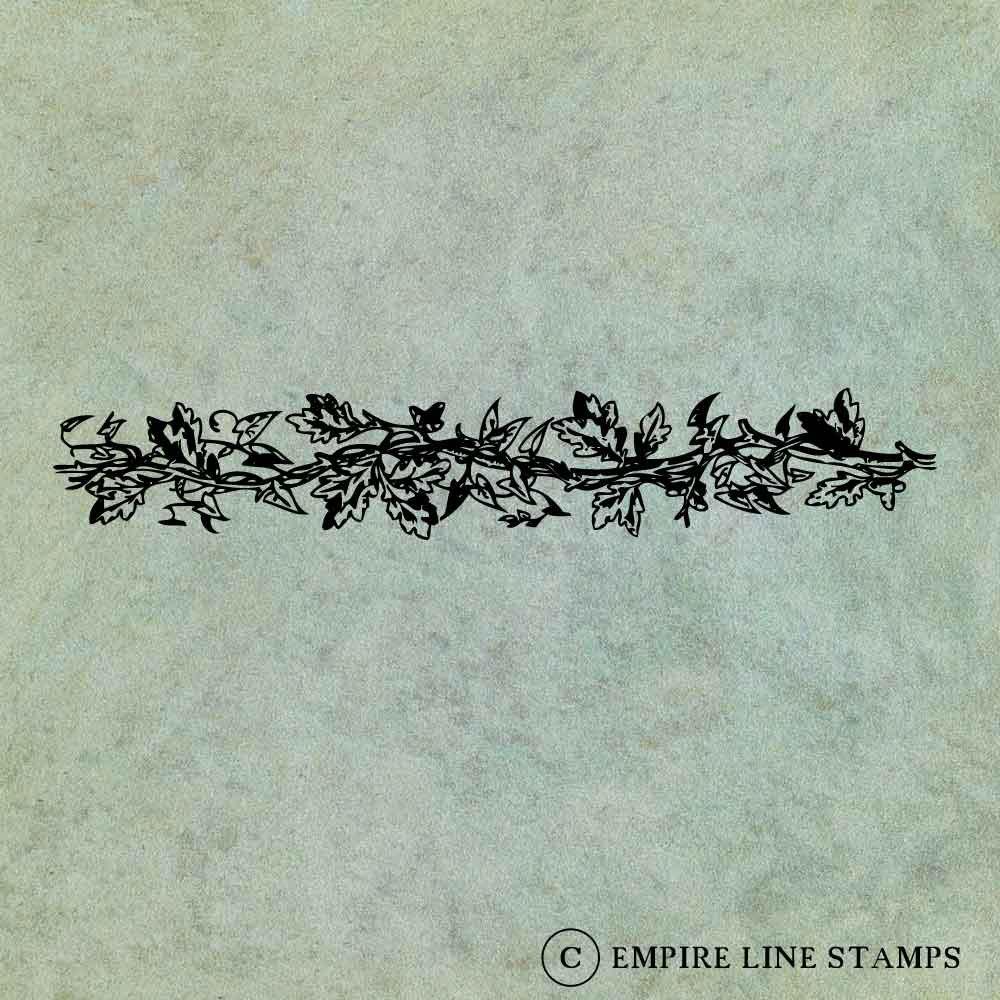 Oak Branch Acorn Leaf Min...