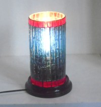 Stained Glass Mosaic Table Lamp Accent Lamp End Table Lamp