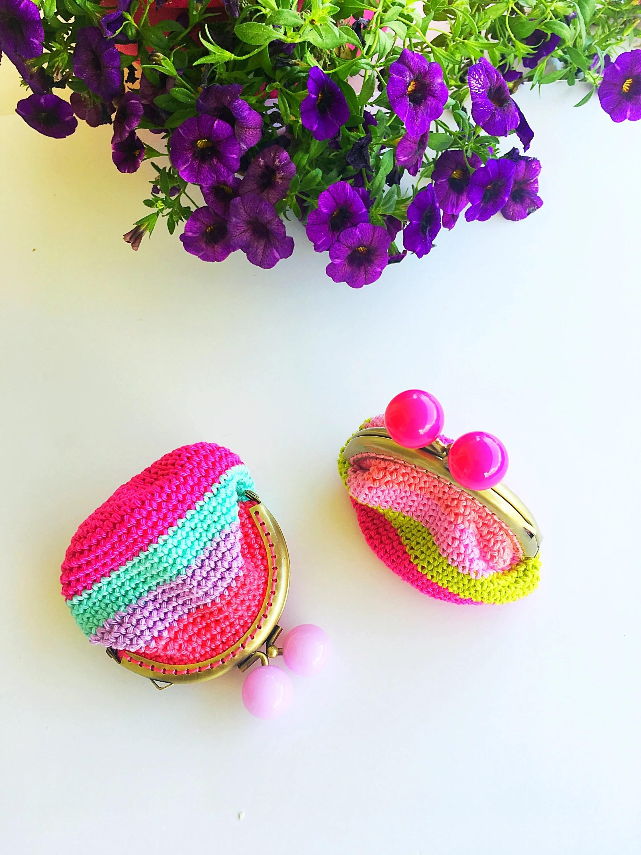 Crochet purse | Coin Purs...