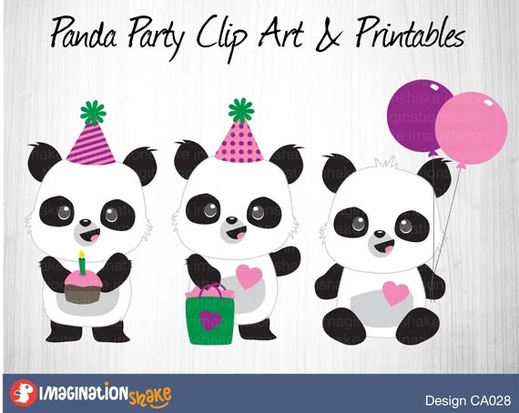 Panda Printable Cartoon