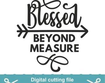 Download Blessed life svg | Etsy