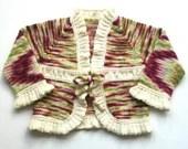 Hand knitted organic meri...