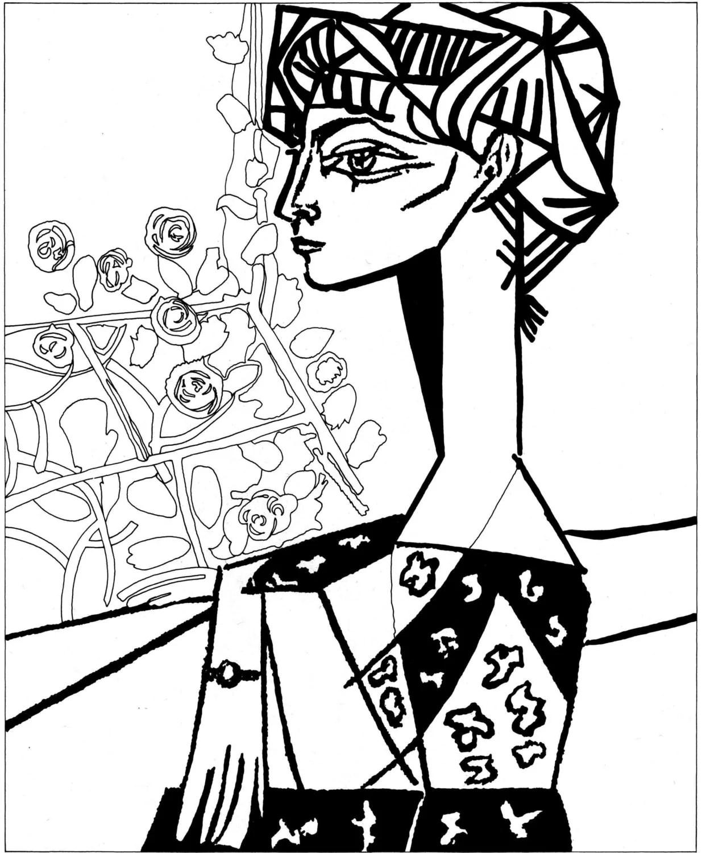 Pablo Picasso Mujer llorandomodelo de terapia de