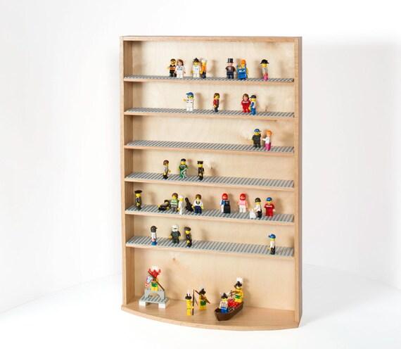 7 Oak Shelf Interactive Display Case
