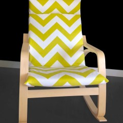Poang Chair Covers Etsy Coleman Lumbar Quatro Big Chevron Ikea Cover