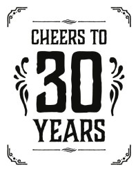 Cheers To 30 Years Decorations &FI05  Advancedmassagebysara